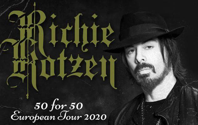 Richie Kotzen a Milano nel 2020: data e biglietti del concerto
