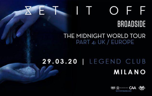 Set It Off in concerto a Milano nel 2020: data e biglietti