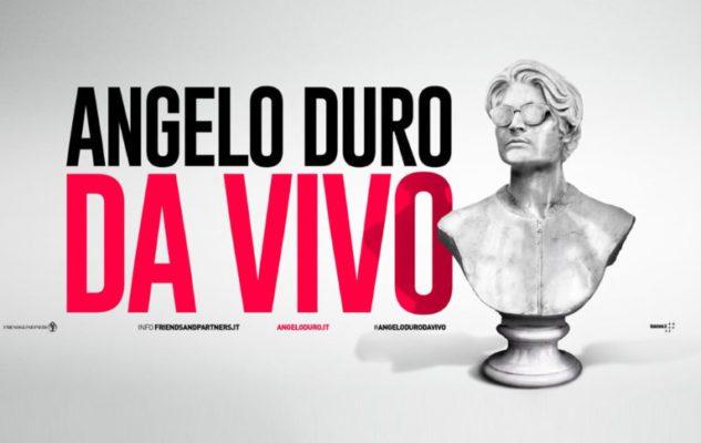 """Angelo Duro a Milano nel 2020: data e biglietti dello spettacolo """"Da vivo"""""""