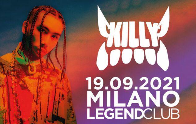 Killy a Milano nel 2021: data e biglietti del concerto